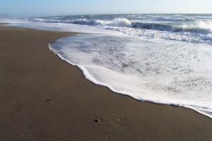 Power of Praise by the ocean