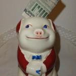 money matters piggy bank